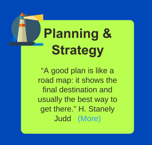 Services planning-strategy